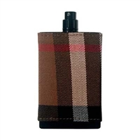 Burberry London Fabric by Burberry for Men 3.4 oz Eau De Toilette Spray Tester