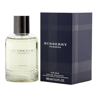 Burberry Weekend by Burberry for Men 3.3 oz Eau De Toilette Spray