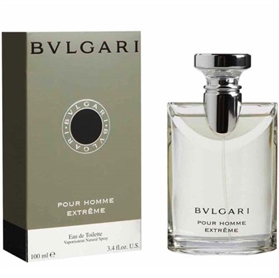 Bvlgari Extreme by Bvlgari for Men 3.4 oz Eau De Toilette Spray