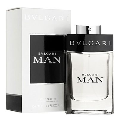 Bvlgari Man by Bvlgari for Men 3.4 oz Eau De Toilette Spray