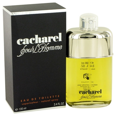 Cacharel Pour Homme by Cacharel for Men 3.4oz Eau De Toilette Spray