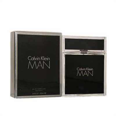Calvin Man by Calvin Klein for Men 3.4 oz Eau De Toilette Spray