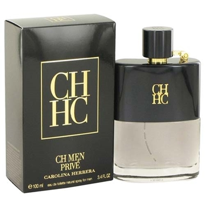CH Men Prive by Carolina Herrera for Men 3.4oz Eau De Toilette Spray