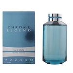 Chrome Legend by Loris Azzaro for Men 4.2 oz Eau De Toilette Spray