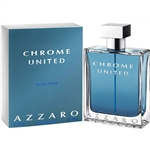 Chrome United by Loris Azzaro for Men 3.4oz Eau De Toilette Spray