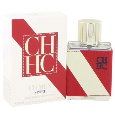 CH Sport by Carolina Herrera for Men 1.7 oz Eau De Toilette Spray