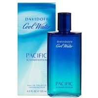 Cool Water Pacific Summer Edition by Zino Davidoff for Men 4.2oz Eau De Toilette Spray