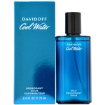 Cool Water by Zino Davidoff for Men 2.5 oz Eau De Toilette Spray