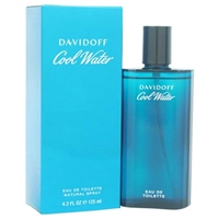 Cool Water by Zino Davidoff for Men 4.2 oz Eau De Toilette Spray
