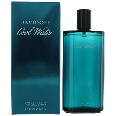 Cool Water by Zino Davidoff for Men 6.7 oz Eau De Toilette Spray