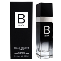 Black by Carlo Corinto for Men 3.3oz Eau De Toilette Spray