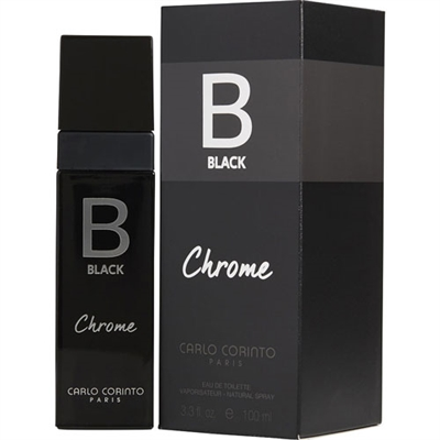 Black Chrome by Carlo Corinto for Men 3.3oz Eau De Toilette Spray