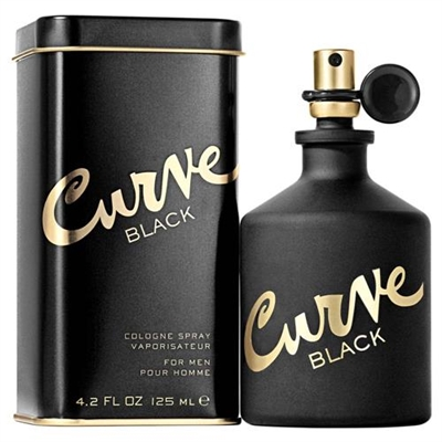 Curve Black by Liz Claiborne for Men 4.2oz Cologne Spray
