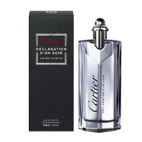 Declaration D'un Soir by Cartier for Men 3.3 oz Eau De Toilette Spray