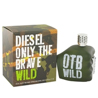Only The Brave Wild by Diesel for Men 2.5oz Eau De Toilette Spray