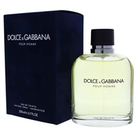 Dolce & Gabbana Pour Homme by Dolce & Gabbana for Men 6.8oz Eau De Toilette Spray