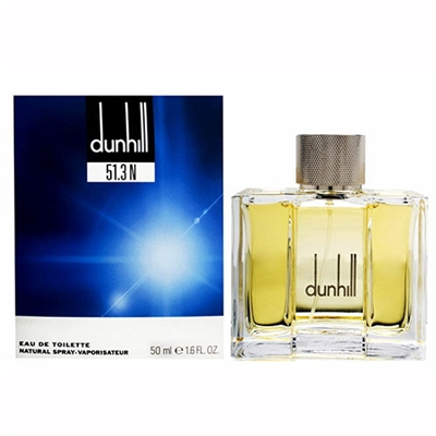 Dunhill 51.3N by Alfred Dunhill for Men 1.7 oz Eau De Toilette Spray