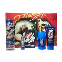 Ed Hardy Love & Luck by Christian Audigier for Men 5 Piece Gift Set