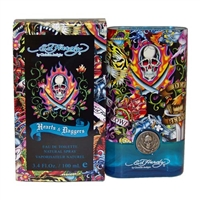 Ed Hardy Hearts & Daggers by Christian Audigier for Men 3.4 oz Eau De Toilette Spray