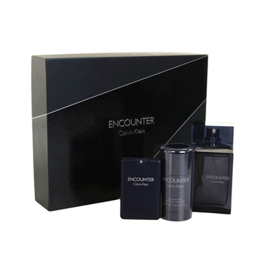 Encounter by Calvin Klein for Men 3 Piece Gift Set