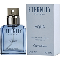 Eternity Aqua by Calvin Klein for Men 1.7 oz Eau De Toilette Spray