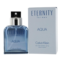 Eternity Aqua by Calvin Klein for Men 6.8oz Eau De Toilette Spray