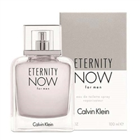 Eternity Now by Calvin Klein for Men 3.4oz Eau De Toilette Spray