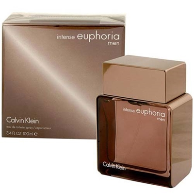 Euphoria Intense by Calvin Klein for Men 3.4 oz Eau De Toilette Spray