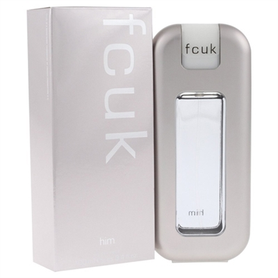 FCUK Him by French Connection for Men 3.4 oz Eau De Toilette Spray