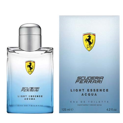 Ferrari Light Essence Acqua by Ferrari for Men 4.2oz Eau De Toilette Spray