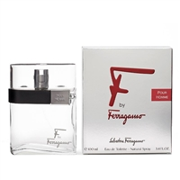 F Pour Homme by Salvatore Ferragamo for Men 3.4 oz Eau De Toilette Spray