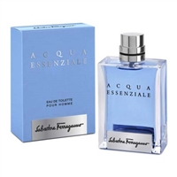 Acqua Essenziale by Salvatore Ferragamo for Men 3.4oz Eau De Toilette Spray