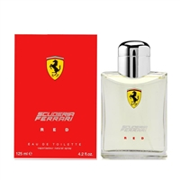 Scuderia Ferrari Red by Ferrari for Men 4.2 oz Eau De Toilette Spray