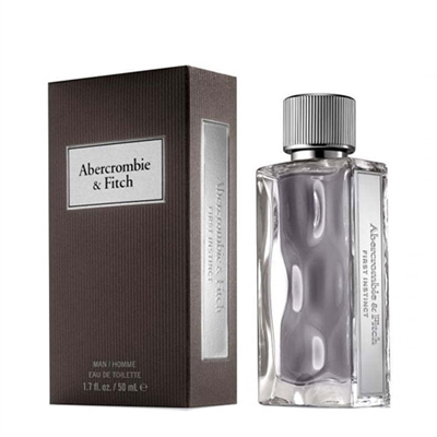 First Instinct by Abercrombie & Fitch for Men 1.7oz Eau De Toilette Spray