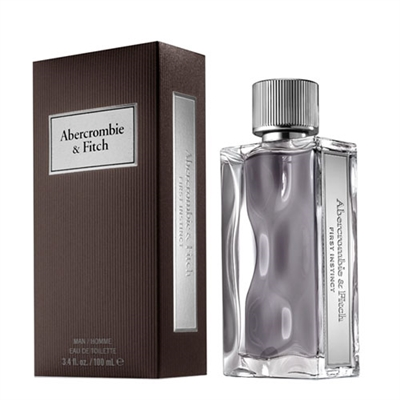 First Instinct by Abercrombie & Fitch for Men 3.4oz Eau De Toilette Spray