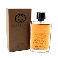 Gucci Guilty Absolute by Gucci for Men 1.6oz Eau De Parfum Spray