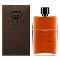 Gucci Guilty Absolute by Gucci for Men 3.0oz Eau De Parfum Spray