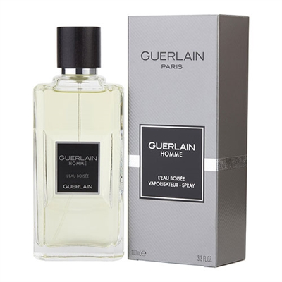 L'eau Boisee by Guerlain for Men 3.3oz Eau De Toilette Spray
