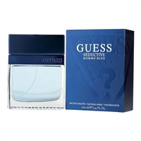Guess Seductive Blue Homme by Guess for Men 3.4 oz Eau De Toilette Spray