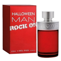 Halloween Man Rock On by Jesus Del Pozo for Men 4.2oz Eau De Toilette Spray