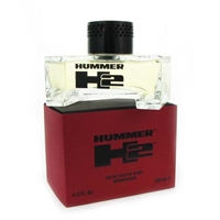 Hummer H2 by Hummer for Men 4.2 oz Eau De Toilette Spray
