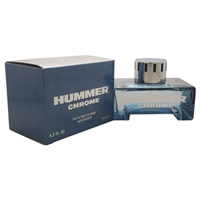 Chrome by Hummer for Men 4.2oz Eau De Toilette Spray