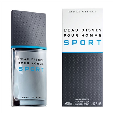 L'eau D'issey Sport Pour Homme by Issey Miyake for Men 6.7oz Eau De Toilette Spray