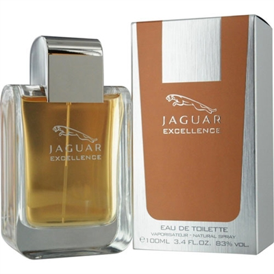 Excellence by Jaguar for Men 3.4oz Eau De Toilette Spray