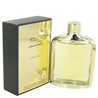 Classic Gold by Jaguar for Men 3.4oz Eau De Toilette Spray