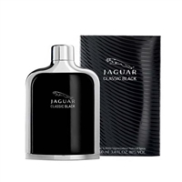 Jaguar Classic Black by Jaguar for Men 3.4oz Eau De Toilette Spray