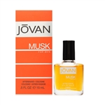 Jovan Musk Aftershave Cologne for Men 0.5oz / 15ml