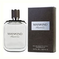 Mankind by Kenneth Cole for Men 3.4oz Eau De Toilette Spray