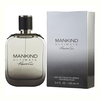 Mankind Ultimate by Kenneth Cole for Men 3.4oz Eau De Toilette Spray