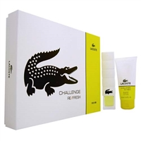 Lacoste Challenge Refresh by Lacoste for Men 2 Piece Gift Set